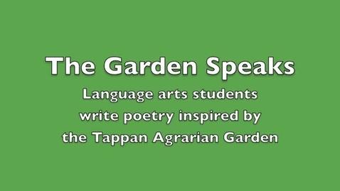 Thumbnail for entry The Garden Speaks