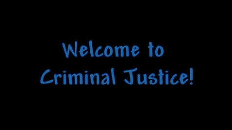 Thumbnail for entry Criminal justice Recruiting