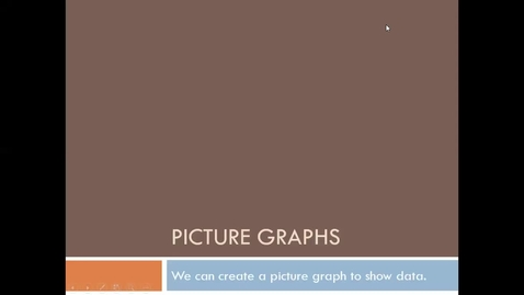 Thumbnail for entry Picture Graphs 5_6