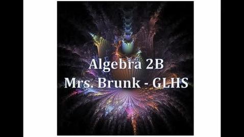 "Thumbnail for entry Alg2B Lesson 6:8: ""Transforming Polynomial Functions"""