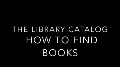 Thumbnail for entry How to Find Books in Destiny Quest (basic search)