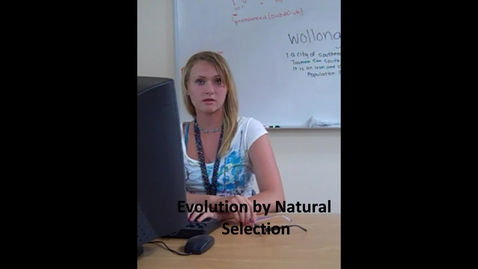 Thumbnail for entry HuntPeriod7EvolutionByNaturalSelectionWithHelpFromMonkeys