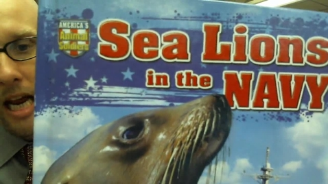 Thumbnail for entry Sea Lions in the Navy