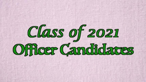 Thumbnail for entry PTHS Class of 2021 Officer Speeches