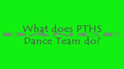 Thumbnail for entry Dance Team Club Video Promo