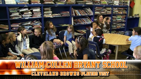 Thumbnail for entry Cleveland Browns at William Cullen Bryant