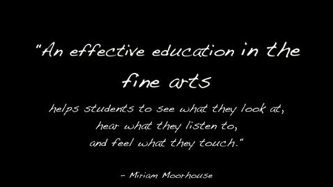 Thumbnail for entry New Mexico Art Education Association Public Service Announcement