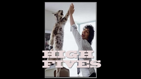 Thumbnail for entry High Fives are Awesome