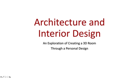 Thumbnail for entry Architecture and Interior Design Part 1