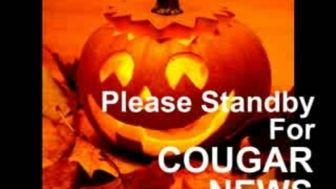 Thumbnail for entry Cougar News 10-24