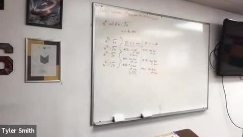 Thumbnail for entry Algebra 2 Class 4/26/21