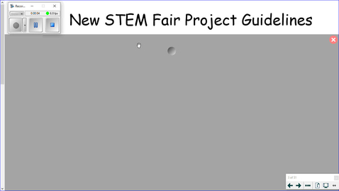 Thumbnail for entry STEM Fair Instructions