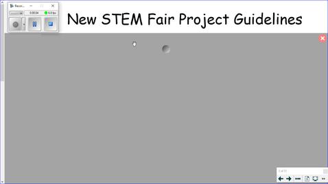 Thumbnail for entry STEM Fair Instructions