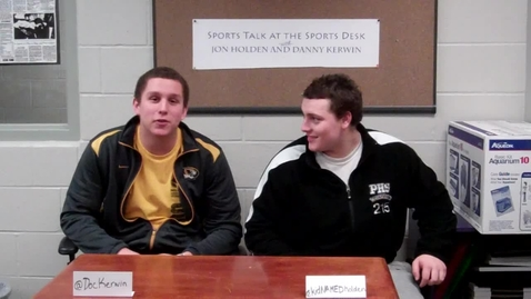 Thumbnail for entry Sports Talk at the Sports Desk: Episode 10