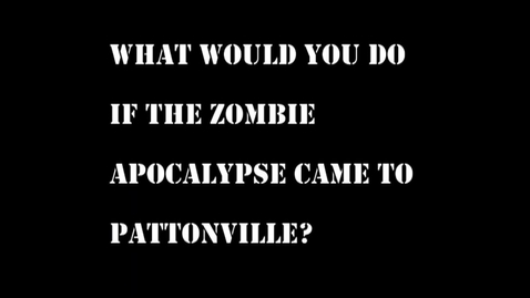 Thumbnail for entry What teachers would do in zombie apocalypse were to happen in schools