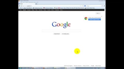 Thumbnail for entry GOOGLE = Folders Tutorial
