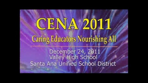 Thumbnail for entry CENA 2011 at Valley H.S.