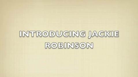 Thumbnail for entry Jackie Robinson Bibliography