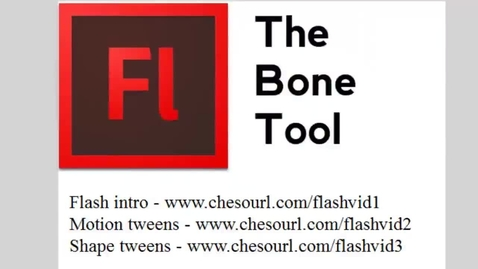 Thumbnail for entry Using the Bone Tool in Flash