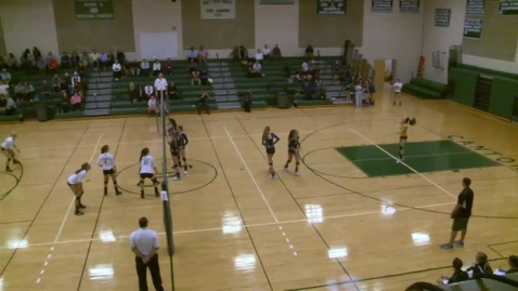 Thumbnail for entry Canton vs. Notre Dame Volleyball Highlights