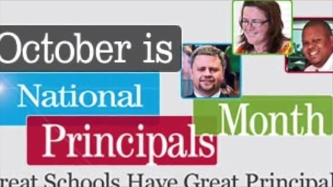 Thumbnail for entry DCMS Celebrating National Principal Month