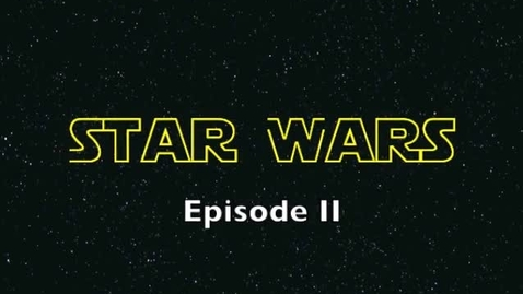 Thumbnail for entry Star Wars Episode II: Final Exam