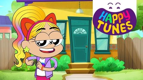 Thumbnail for entry In my House (Partes de la casa), Kids Songs -