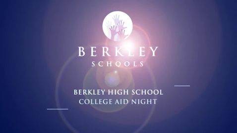 Thumbnail for entry 2012 BHS College Aid Night