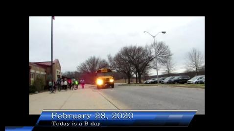 Thumbnail for entry WHMS Morning Show Feb 28, 2020