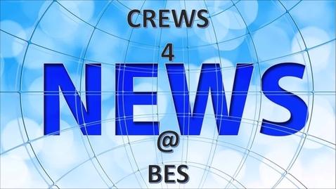 Thumbnail for entry CREWS 4 NEWS @ BES - SEPTEMBER 23, 2021