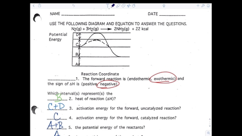 Thumbnail for entry Kinetics Page 4 Answers