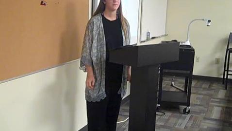 Thumbnail for entry Bailey Horton Speech 1