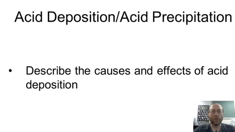 Thumbnail for entry Acid Deposition