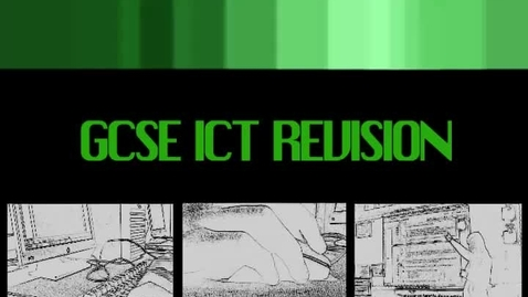 Thumbnail for entry Dr Mac's GCSE ICT Revision - Internet and Web Design