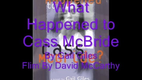 Thumbnail for entry What Happened To Cass McBride DM Book Tralier