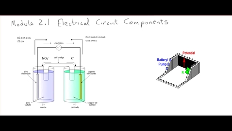 Thumbnail for entry Clip of M2.1 Electrical Circuit Components