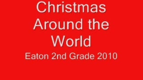 Thumbnail for entry Christmas Around the World