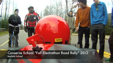 Thumbnail for entry Watch Out Conserve School Electrathon 2012