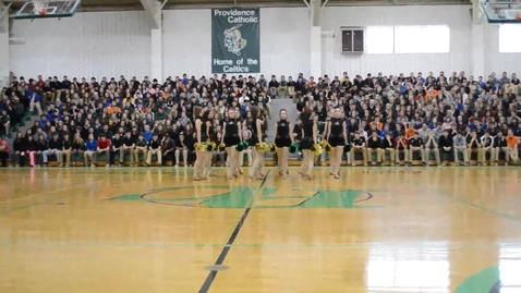 Thumbnail for entry Providence Catholic Poms Perform Award-Winning Dance at Recognition Assembly - 3rd at State!