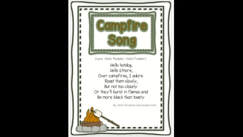 Thumbnail for entry Campfire Song - Google Slides