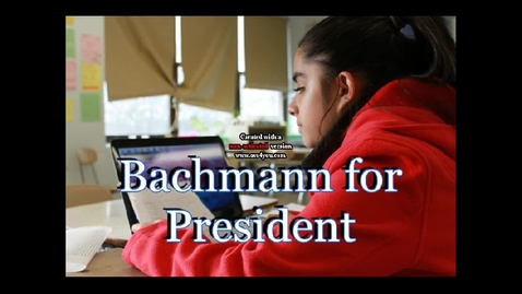 Thumbnail for entry Bachmann's Political Commercial