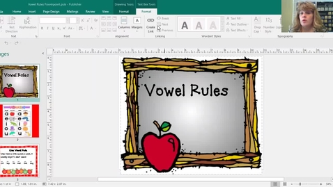 Thumbnail for entry Vowel Rules