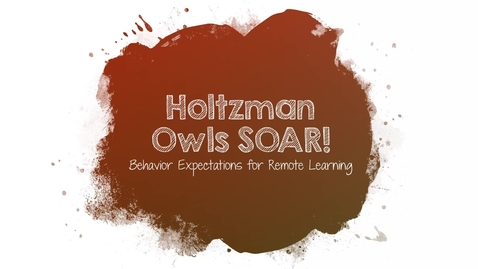 Thumbnail for entry Holtzman Owls SOAR Remote Learning Matix
