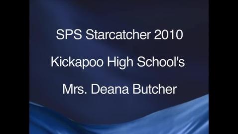 Thumbnail for entry SPS StarCatcher Award 2010 - Mrs. Deana Butcher