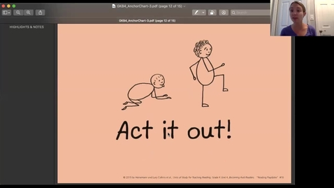 Thumbnail for entry Act It Out While Reading 6.1