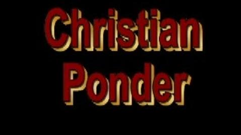 Thumbnail for entry Christian Ponder Commercial