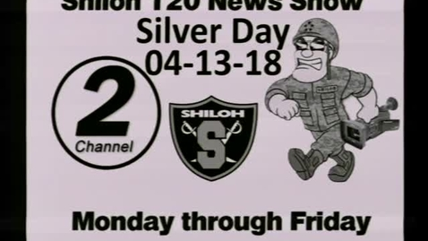 Thumbnail for entry 04-13-18 Shiloh High School News 1