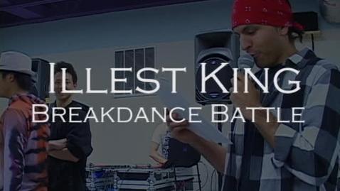 Thumbnail for entry Illest King Breakdance Battle