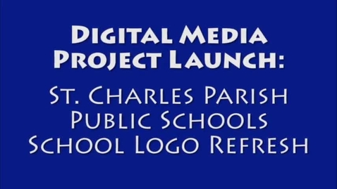 Thumbnail for entry Project Launch: SCPPS Web Logos Project Launch PM Class