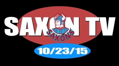 Thumbnail for entry Saxon TV 102315